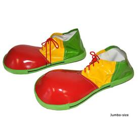 Red Yellow Green - Jumbo Clownschuhe