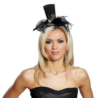 viele möglichkeiten erster Blick modisches und attraktives Paket Hut mit Skeletthänden Haarreif